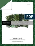 Fluoride Analysis