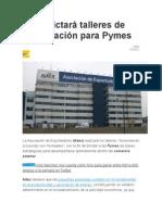 Adex Dictará Talleres de Capacitación Para Pymes