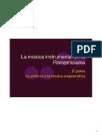 TEMA 8 Música Instrumental en Romanticismo