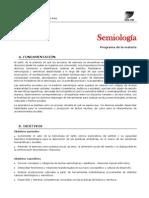 Semiología Programa