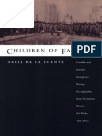 Ariel de La Fuente - Children of Facundo Caudillo and Gaucho Insurgency During the Argentine State-Formation Process (La Rioja, 1853-1870)