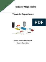 Tipos de Capacitores - Galvez B.