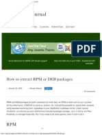 How to Extract RPM or DEB Packages _ G-Loaded Journal