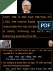Warren Buffet ( RICHEST MAN OF THE WORLD )