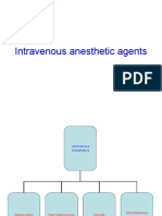Intravenous anesthetic agents
