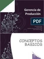 Gerencia de Producción 2015