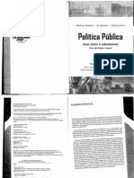 Politicas Publicas - Seus ciclos e Subsistemas