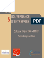 Norme IFRS Et Gouvernance