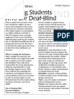 65pepnet tipsheet - considerations when teaching students who are deafblind
