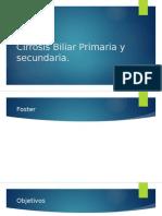 Cirrosis Biliar Primaria y Secundaria