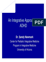 An Integrative Approach to Adhd