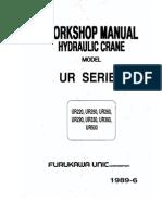 Furukawa UR Series Work Shop Manual