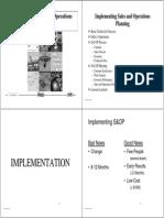 S&OP _ Implementation