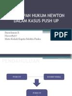 Penerapan Hukum Newton Dalam Kasus Push Up