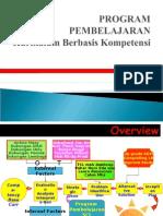 Program Pembelajaran Kbk