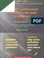 1. Módulo Second Language Acquisition - 2015