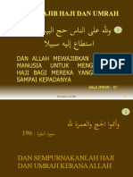 6 Dalil Wajib Haji Dan Umrah
