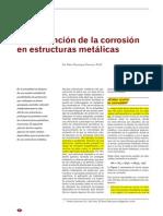 La Prevencion de La Corrosion en Estructuras Metalicas