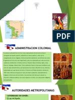ADMINISTRACION DE LA COLONIA DEL PERU.pptx