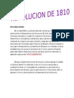 Revolucion de 1810