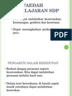Faedah Pembelajaran SDP