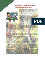 LA INDEPENDENCIA DEL PERU EN EL DEPARTAMENTO DE ICA.docx