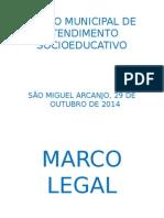 Plano Municipal de Atendimento Socioeducativo do Município de São Miguel Arcanjo - SP