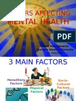 Factors Affecting Mental Health