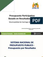 presupuesto municipalidad 1