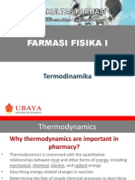 Farmasi Fisika I-Thermodynamics