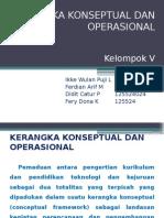 Kerangka Konseptual Dan Operasional