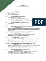 jack robinson resume 2015