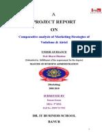 56301041-Comparative-Analysis-of-Marketing-Strategies-of-VODAFONE-amp-AIRTEL-2.doc