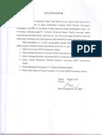Analisis Pendelegasian Tugas Dan Wewenang