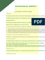NIA 400 Evaluacion de Riesgo y Control Interno