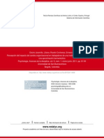 Cambio Organizacional 2011 - Paper