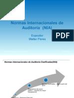 Normas Internacionales de Auditoria Presentación de Todas Las Normas