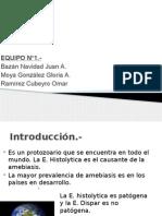 E. Histolytica/Dispar (Parásito y generalidades)