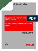 Ferramental BOSCH - Diesel