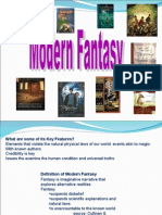 What is Modern Fantasy