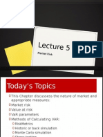 Lecture5-Marketrisk
