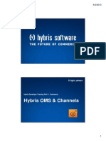 Hybris Developer Training Part II - Commerce - Module 16 - Hybris OMS & Channels