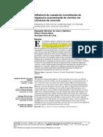 Influência da Camada do Revestimento de Argamassa na Penetração de Cloretos em Estruturas de Concreto