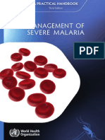 Management of Severe Malaria 2013