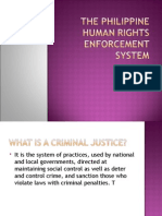 The Philippine Human Rights Enforcement System