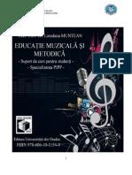 Educatie Muzicala Si Metodica Suport de Curs