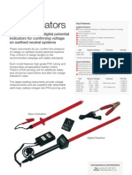 High Voltage Indicators Datasheet VV2