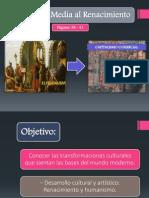 PRÁCTICA PTT - De La Edad Media Al Renacimiento