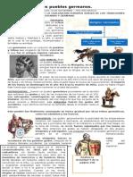 GUÍA CONTENIDO - Los Pueblos Germanos