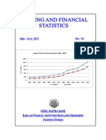 Banking and Financial Statistics--No 59 July 2013 2